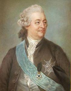 Charles De Geer 1720-1778. Ölgemälde von Gustaf Lundberg