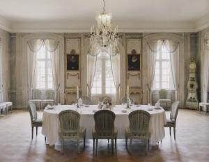 Der Speisesaal im Herrenhof. – Bild von Ann-Charlotte Ljungholm.