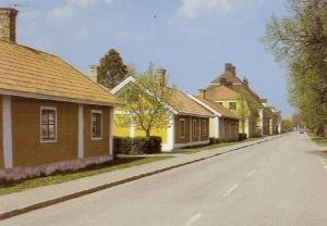 Stora gatan för några decennier sedan - Bild från upplandia.se