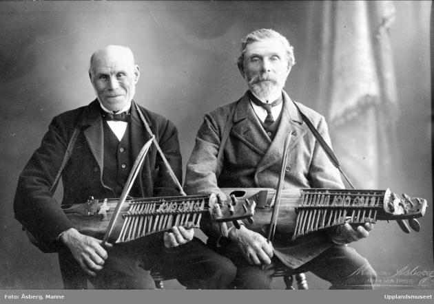 Vilhelm Tegenborg och Jan Erik Jansson
