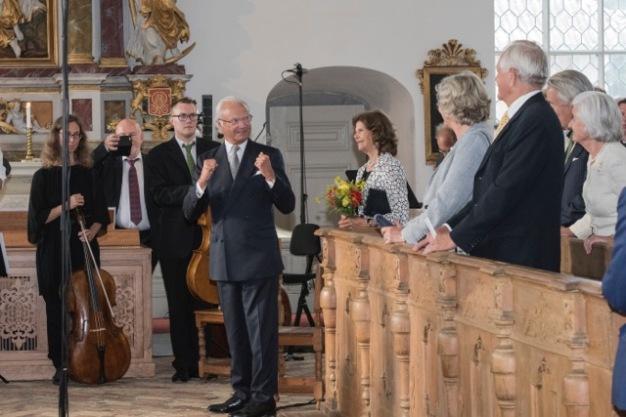 19. H.M. Konungen tackar för konserten